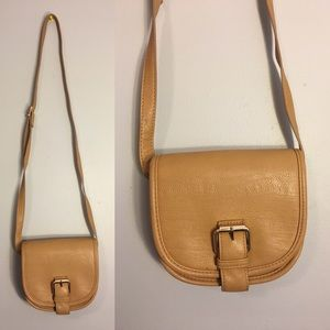 Vintage style crossbody Tan Forever 21 Purse